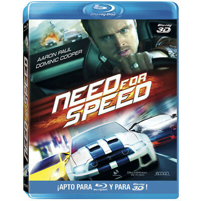 NEED FOR SPEED- Blue-ray 3D