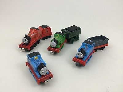 Thomas The Train Die-Cast Toy Lot 7pc Magnetic Cars Emily James Coal Cars