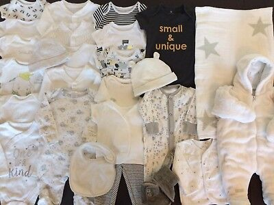*Lovely Collection/ Bundle Of Baby Unisex Clothing* Newborn - 0-3 Months