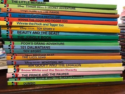 Disney Wonderful World of Reading lot