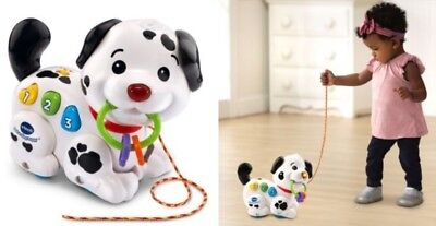 VTech Pull and Sing Puppy Toy for Baby Kids Boy and Girl Age 6 Months to 3 Years