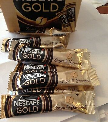 INSTANT Coffee NESCAFE GOLD 2g *  40 sticks  No sugar added SUGAR FREE