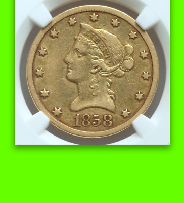 1858-O NGC XF █ 20,000 Minted █ $2,160 Ask ☗ 237 Survive per PCGS CF ☗ $10 Eagle