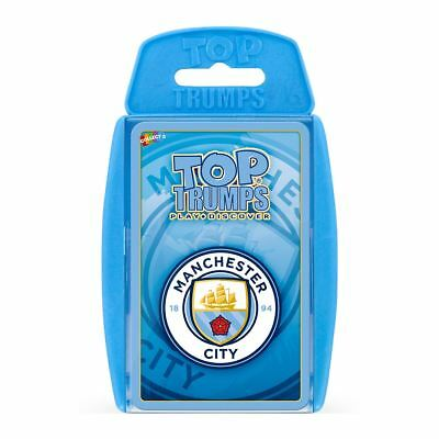 Manchester City FC Top Trumps Card Game