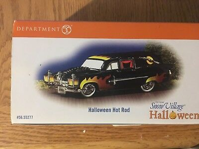Dept 56-Snow Village  Halloween collection- Halloween Hot Rod