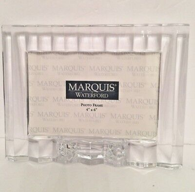 Marquis by Waterford Omnia Crystal Picture Frame 4 x 6 New NIB Made in Germany