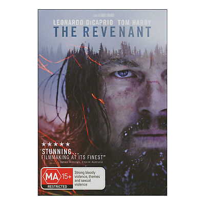 The Revenant DVD Brand New Region 4 Aust. - Leonardo DiCaprio, Tom Hardy