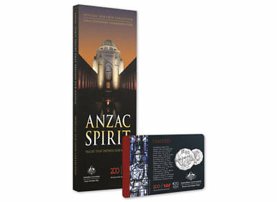 RAM Royal Australian Mint Official 2018 ANZAC SPIRIT COIN Collection complete