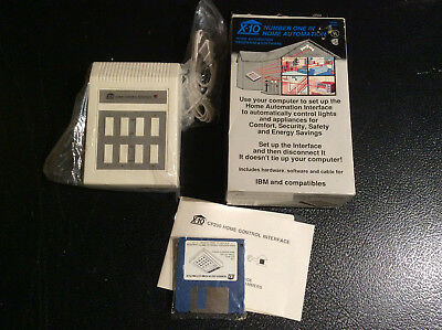 System X10 Powerhouse Home Control/Security RS-232 Computer Interface NOS READ!