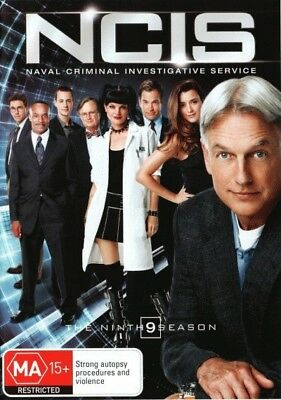 NCIS: SEASON 9 = TV Series = New DVD R4