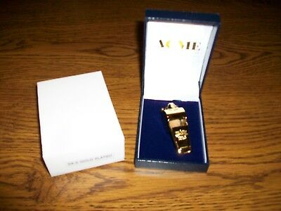 The Acme Thunderer 59.5 Gold Plated Whistle..New In Box..