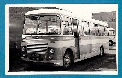 Channel Islands Photo ~ Rover Tours of Jersey J33641: 1964 Strachans Bedford SB3