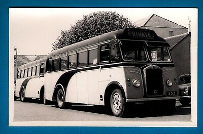 Channel Islands Bus Photo ~ Watsons Greys 653 - 1939 Albion Victor - Guernsey