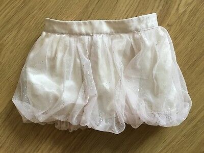 Baby Gap Beautful Puffball Tutu Sparkly Tulle Mini Party Skirt 18-24 M Pink