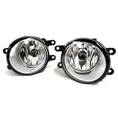 Pair Clear Fog Lights Lamps Left Right RH LH For Toyota Camry Yaris Lexus IS