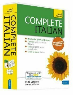 NEW Complete Italian By Clelia Boscolo Book with Other Items Free Shipping