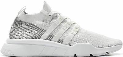 ADIDAS EQT SUPPORT MID ADV PK SZ 8 WHITE GREY ONE WHITE PRIMEKNIT CQ2997