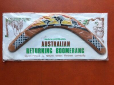 Boomerang, Made in Australia, Bought Outside of Sydney, Aboriginal Hunting Tool