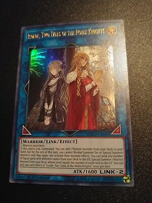 Isolde, Two Tales of the Noble Knights (Ultra Rare) 1st Ed NM EXFO-EN094