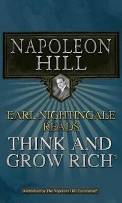 NEW Earl Nightingale Reads Think and Grow Rich By Napoleon Hill Audio CD