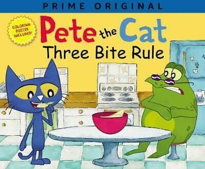 NEW Pete the Cat: Three Bite Rule By Anne Lamb Paperback Free Shipping