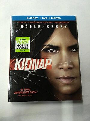 Kidnap (Blu-ray Disc, DVD, Digital) New With Slip Cover