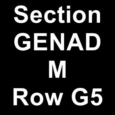2 Tickets The Chemical Brothers 5/17/19 San Francisco, CA