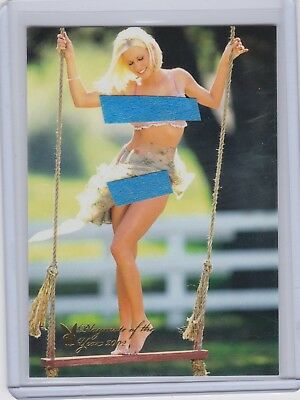 Dalene Kurtis Playboy Centerfold Update #7PY Playmate of the Year Card HOT !!