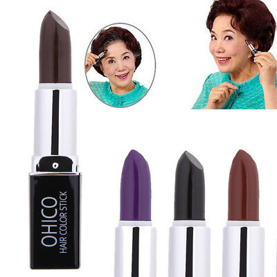Fashion Disposable Dye Color Lipstick Chalk Crayon Temporary Paint DIY Hair Care