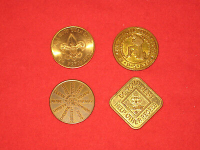 BSA Coins - Wonderful World of Scouting, Valley Forge 1957, Oath, Cub Scout Oath