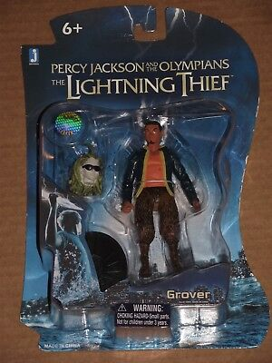 Percy Jackson and the Lightning Thief Grover Action Figure New in Package