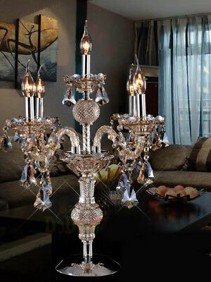E131 New European Style Elegant Crystal Light Bedroom/Living Room Table Lamp A