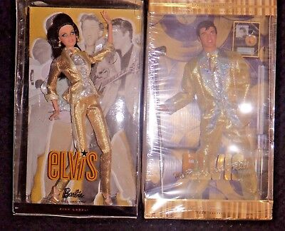 Barbie and Ken as Priscilla and Elvis,  so rare and a collectors dream