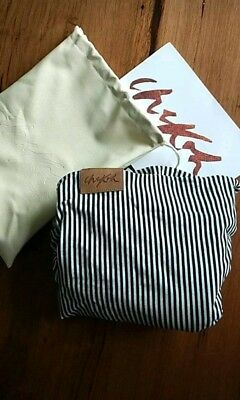 Chekoh Striped Black And White Baby Wrap Carrier
