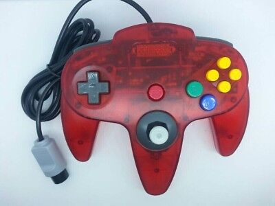 Crystal Color Classic Wired Gamepad Joystick Control for Nintendo N64 Controller