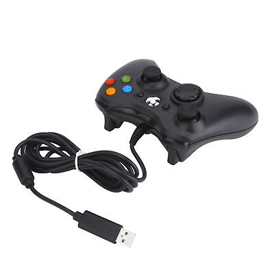New Black Wired USB Cable Controller Joystick Gamepad For  X box 360 Console &PC