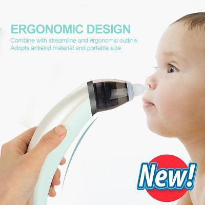 Electrical Baby Nasal Aspirator Electric Nose Cleaner with 2 Sizes of Nose Tips