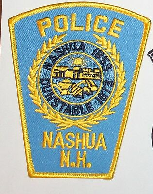 NASHUA POLICE New Hampshire NH PD patch