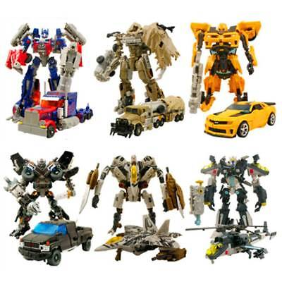 Transformers Action Figures Kids Toys Optimus Prime Ironhide Bumble Bee Robot