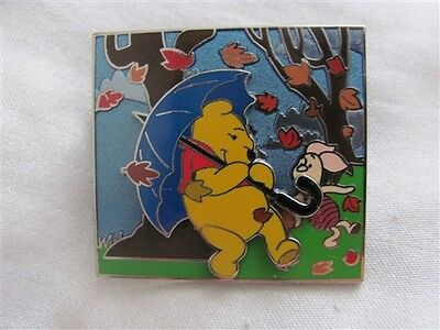 Disney Trading Pins 108597 Pooh and Piglet - Blustery Day