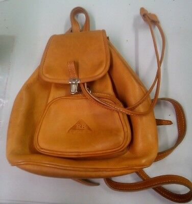 RB Costa Rica Leather Backpack Purse