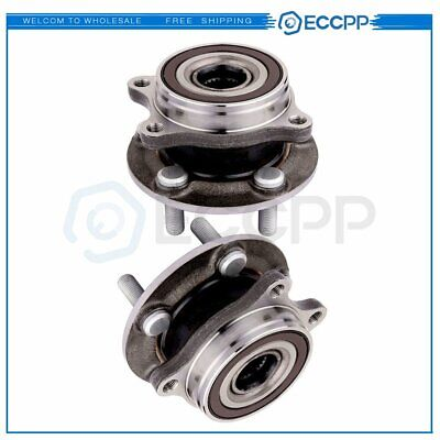 2 Front Wheel Hub And Bearing Assembly For Toyota Prius 2010-2015 New 5 Bolts