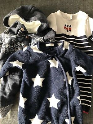 Baby boys Winter clothes bundle First Month 0-3 Excellent Condition Next Disney