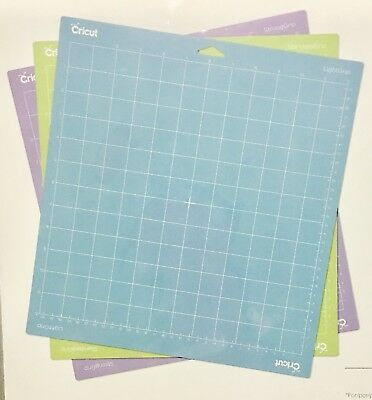 CRICUT STANDARD GRIP CUTTING MATS 12in x 12in  THREE MATS CODE 2003546