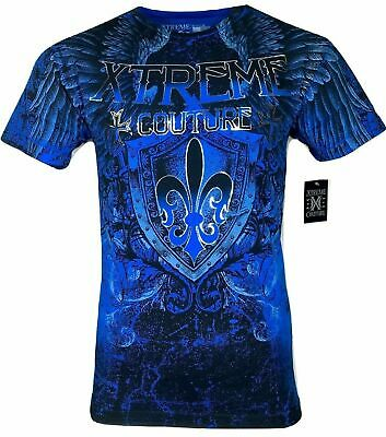 XTREME COUTURE by AFFLICTION Men T-Shirt COBU SMITHSONIAN Biker MMA GYM S-5X$40