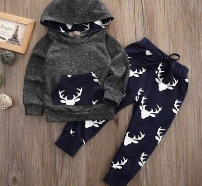 Baby Boys Clothing Sets 6-12 Months. Hoodie, Top, Joggers, 2 Pieces, UK Seller