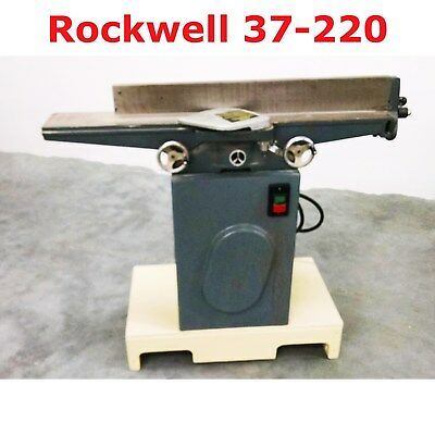 "6"" Jointer Rockwell Long Bed 37-220 + More See Photos 710918"