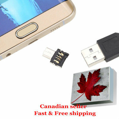 micro usb to USB , type C to USB OTG Connector Adapter Flash Drive