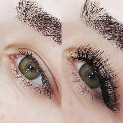 16 lines 10D Pre made Russian Volume Lash Fanned Individual Eyelash Extension