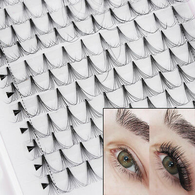 abf496cfe87 Beauty 16 lines 10D Pre made Volume Lash Fanned Individual Eyelash Extension